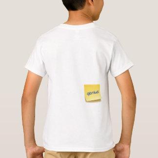 Klibbigt snille noterar tee shirt