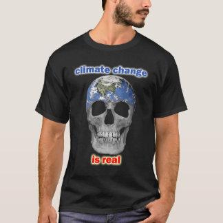 Klimatförändring är verklig manar t-skjorta tee shirts