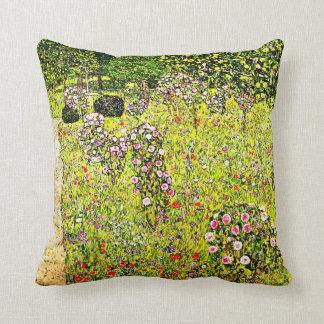 Klimt - fruktträdgård med ro, Gustav Klimt konst Kudde