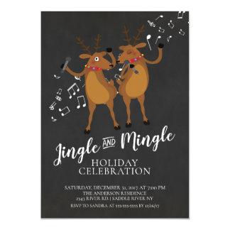 Klinga & blanda renjulfestinbjudan 12,7 x 17,8 cm inbjudningskort
