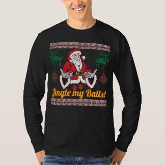 Klinga min tröja för jul för bolljultomten fula