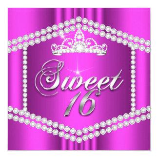 Klippning för diamant för party för shock fyrkantigt 13,3 cm inbjudningskort