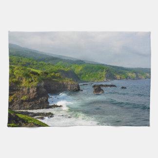 Klippor i Maui Hawaii Kökshanddukar