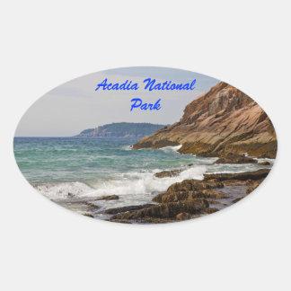 Klistermärke för AcadiakustOval