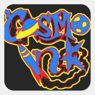 Klistermärke för Cosmo bläckfärg