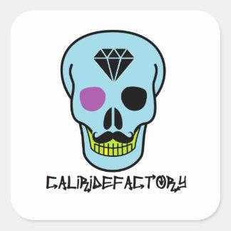 Klistermärke för döskalle skateboard för Cali