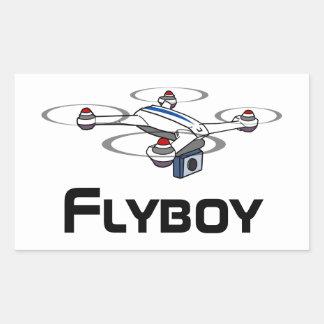 klistermärke för flyboyquadcoptersurr