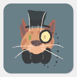 Klistermärke för herr Fattingston