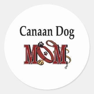 Klistermärke för Kanaan hundmamma