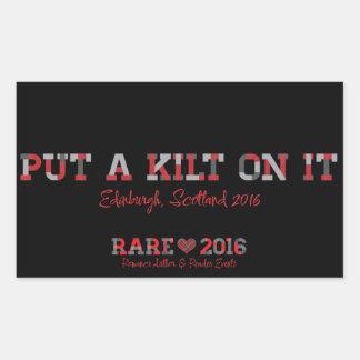 Klistermärke för Kilt RARE16