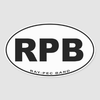 Klistermärke för musikband Stråle-Pec