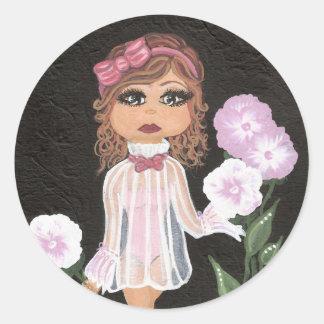 Klistermärke för oskyldigQuantum Cutie flicka