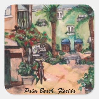 Klistermärke för Palm Beach gatamålning