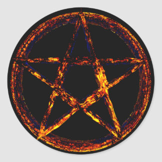 Klistermärke för Pentagramklassikerrunda som är