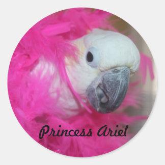 Klistermärke för Princess Ariel