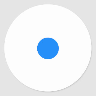 Klistermärke för RAINBO-lekbiet - liten blått på