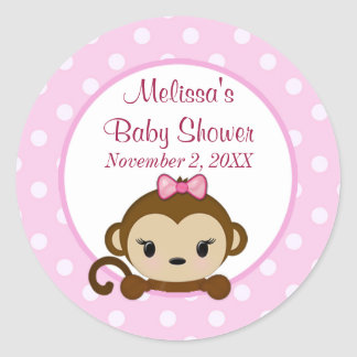 Klistermärke SST#1 för baby shower för Safari för