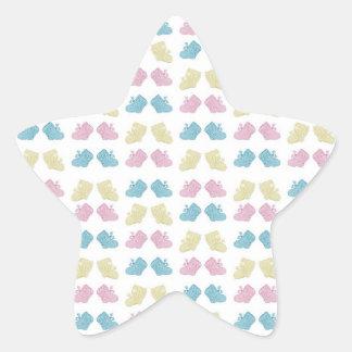 Klistermärkear - Cutie bootyer Stjärnformat Klistermärke