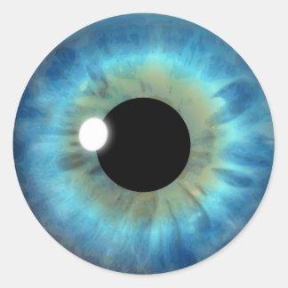 Klistermärkear för runda för ögonglob för coola runt klistermärke