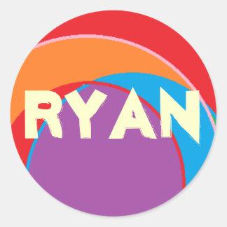 Klistermärkear för Ryan Runt Klistermärke