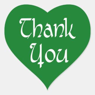 Klistermärken för tackgrönt- och