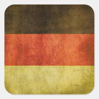 Klistermärken med smutsar ner flagga från Tyskland