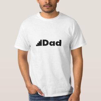 Kliva pappan - en vitT-tröja för styvfar Tshirts