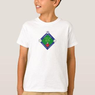 Kliva upp till pläterabarntshirten tee shirts
