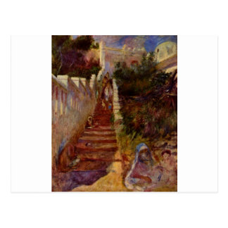 Kliver i Algiers vid Pierre-Auguste Renoir Vykort