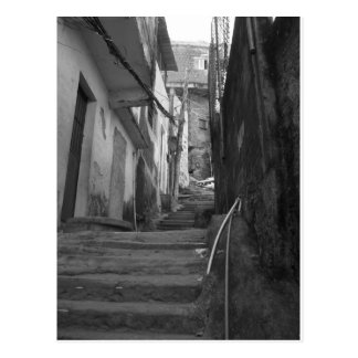 Kliver i den största favelaen i Rio de Janeiro Vykort