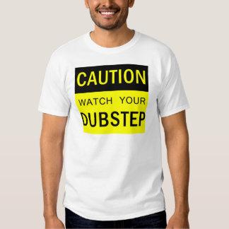 Klocka din DubStep T-tröja Tee Shirt