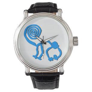 Klocka för blåttNazca apa