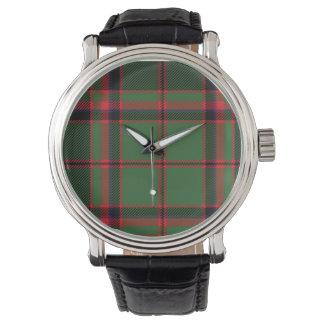 Klocka för Buchan skotsk familjTartan