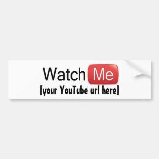 Klocka jag på (grundläggande) YouTube, Bildekal