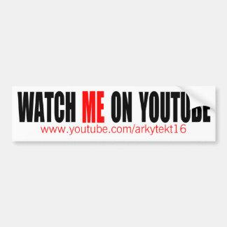 Klocka jag på (moderna) YouTube, Bildekal