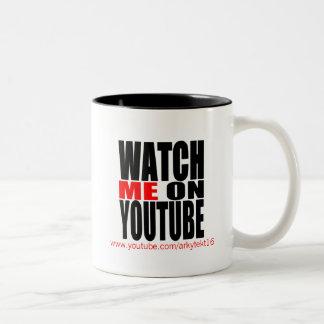 Klocka jag på (moderna) YouTube, Två-Tonad Mugg