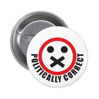 klockan din mun och är politiskt korrekt standard knapp rund 5.7 cm