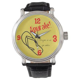 klockan för lafamosachanclaen, om du är latinoen, armbandsur