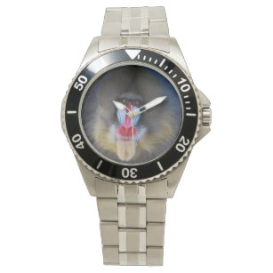 Klok Mandrill apa Armbandsur