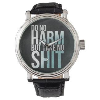 Klok ordstävord för kallt citationstecken av armbandsur