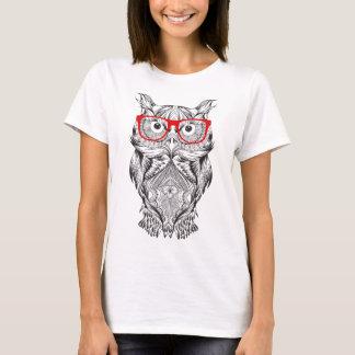 Klok uggla t-shirt