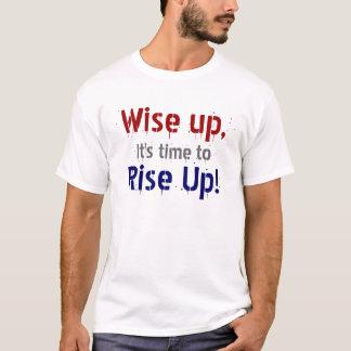 Klokt övre! t shirts