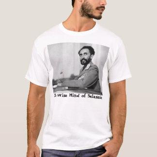 Klokt vara besvärad av den Selassie skjortan Tshirts