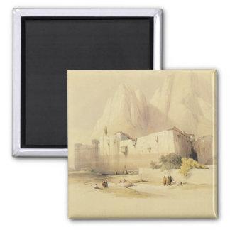 Kloster av St. Catherine, Mount Sinai, Februar Magneter För Kylskåp