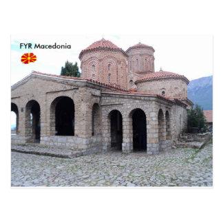Kloster av St. Naum, FYR Macedonia. Vykort