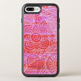 klottra konst OtterBox symmetry iPhone 7 plus skal