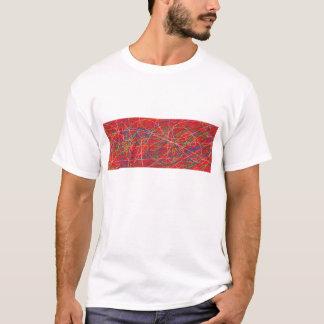 klottrar t-shirts