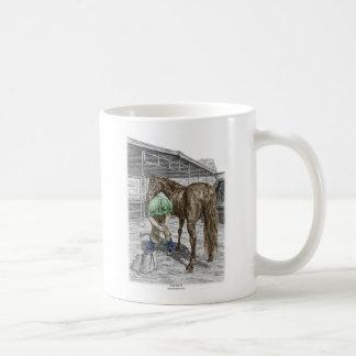 Klöv för häst för Farrierhovslagarebräm Kaffemugg