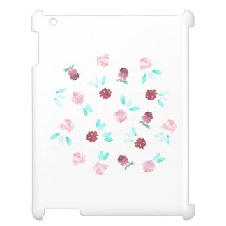 Klöver blommar det glansiga iPadfodral iPad Fodral