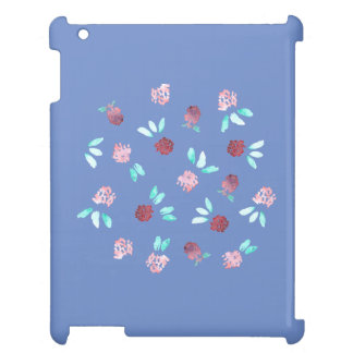 Klöver blommar det glansiga iPadfodral iPad Mobil Fodral